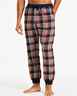Capsule Plum Fleece Lined Loungepants