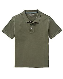 Capsule Khaki Short Sleeve Polo L