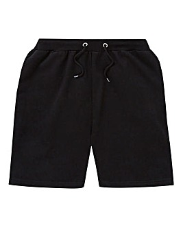 Black Fleece Jog Shorts