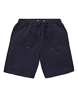 Capsule Navy Fleece Jog Shorts