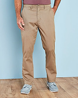 Capsule Dark Stone Stretch Chinos 29in