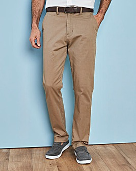Capsule Dark Stone Stretch Chinos 33in