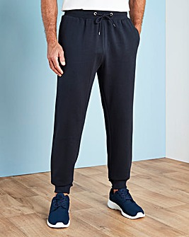 Navy Cuffed Jog Pants 27in