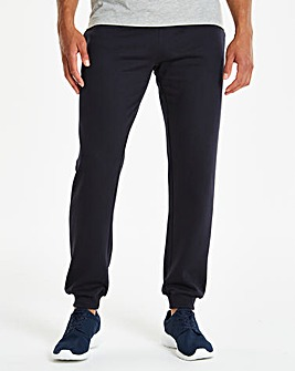 Navy Cuffed Jog Pants 29in