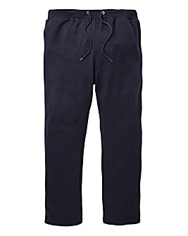Navy Straight Jog Pants 31in
