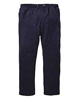 Navy Straight Jog Pants 29in