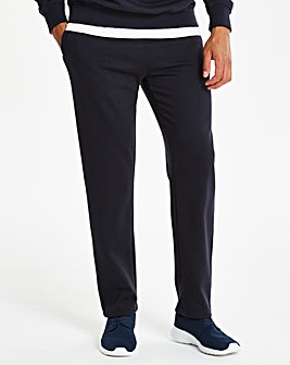 Navy Straight Jog Pants 27in