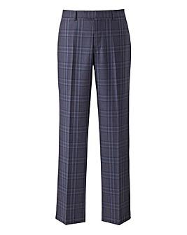 W&B LONDON Blue Check Trousers