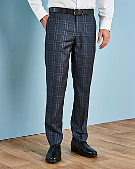 W&B LONDON Blue Check Trousers