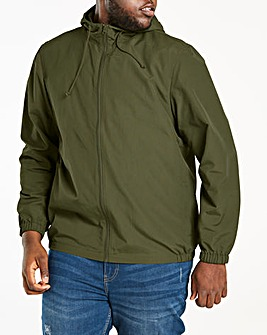 Khaki Lightweight Hooded Jacket