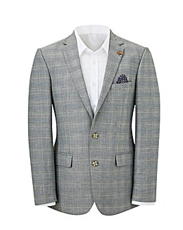 Stanley Grey Check Suit Jacket