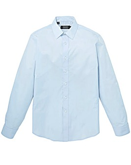 Blue Long Sleeve Formal Shirt Regular