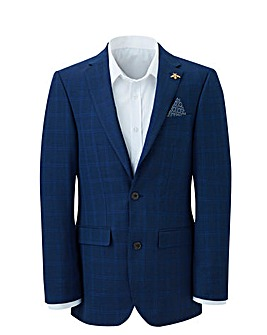 Navy Check Ben Suit Jacket