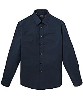 W&B London Navy L/S Formal Shirt L