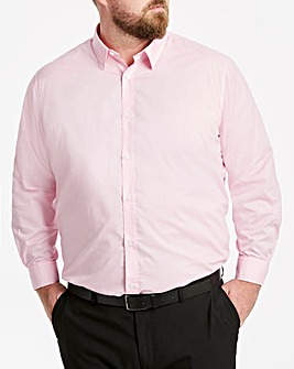 Pink Long Sleeve Formal Shirt