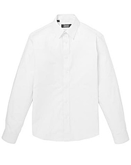 White Long Sleeve Formal Shirt Regular