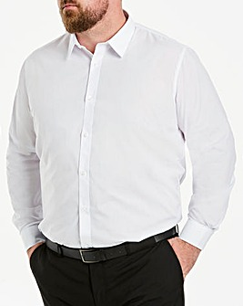 White Long Sleeve Formal Shirt Long