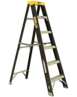 Rhino 6 Tread Fibreglass Ladder
