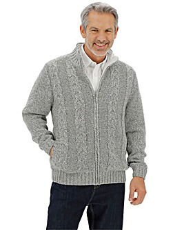 Fleece Lined Cardigan