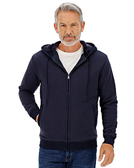 Fleece Lined Hooded Sweatshirt