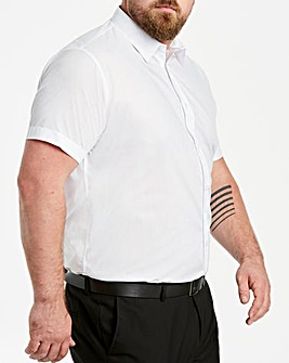 White Short Sleeve Formal Shirt