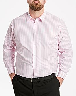 Pink Stripe L/S Formal Shirt R