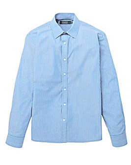 W&B London Stripe L/S Formal Shirt L
