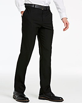 Black Stretch Travel Suit Trousers