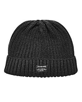 Jack & Jones Black Beanie