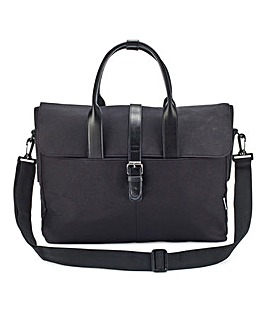 Burtons Rockingham Black Briefcase