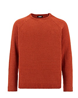 Chenille Crew Neck Jumper Long