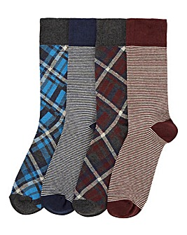 Capsule Pack of 4 Heritage Socks