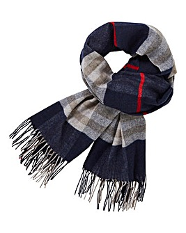Capsule Oversized Check Scarf