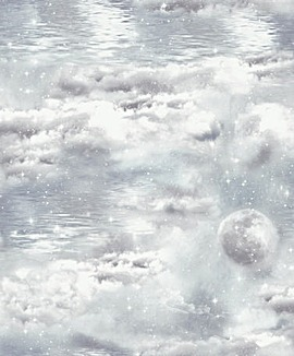 Arthouse Watery Skies Wallpaper