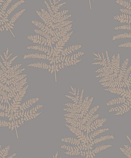 Arthouse Metallic Fern Wallpaper