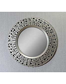 Arthouse Circular Golden Mirror