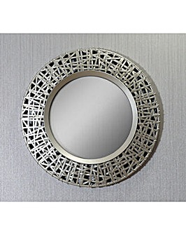 Arthouse Circular Golden Mirror