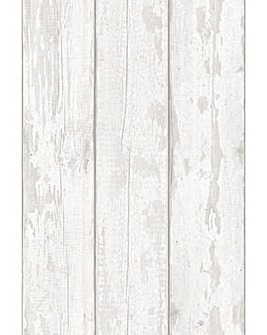 Arthouse Washed Wood Wallpaper