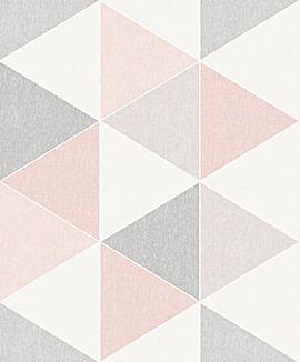 Arthouse Scandi Triangle Wallpaper