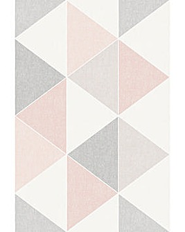 Arthouse Scandi Triangle Wallpaper