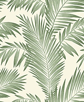 Arthouse Tropical Palm Green Wallpaper