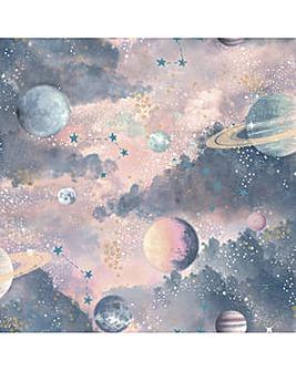 Arthouse Glitter Planets WP