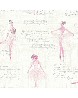 Arthouse Pirouette Pink WP