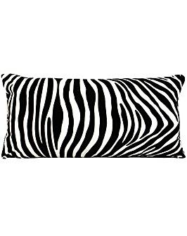 Zanzibar Zebra Poly Cushion