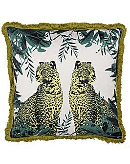 Twin Zebra Poly Cushion