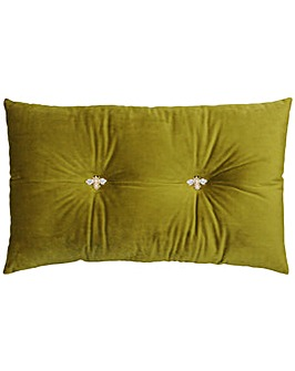 Bumble Bee Button Pre-Filled Cushion