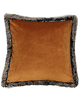 Fur Velvet Poly Cushion