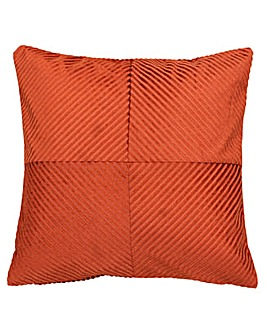 Infinity Ribbed Poly Cushion