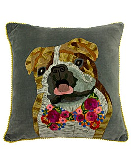 Bulldog Poly Cushion