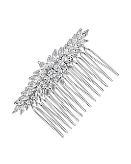 Alan Hannah Crystal Clustered Hair Comb